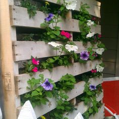 Pallet put to use