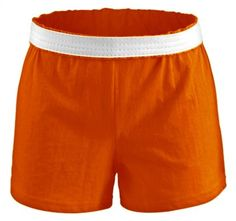 MJ Soffe Athletic Short  ORANGE Extra Small *** Learn more by visiting the image link.(This is an Amazon affiliate link and I receive a commission for the sales)