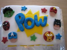 diy marvel cakes | posted 1st january by nicola