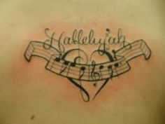 This is MY tattoo, but I didn't pin it!  Crazy, but I'm flattered to see it here!  Music tattoo - I drew this for my friend @catherine Nance It's weird to see it floating around Pinterest!