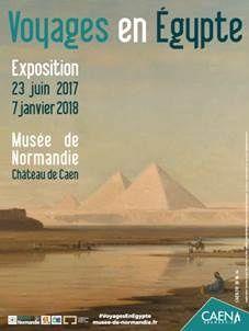 #Culture Musée de #Normandie : Des NORMANDS au pays des PHARAONS au XIXe siecle !