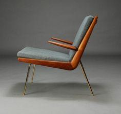 Milo Van Snick | Boomerang Chair by Peter Hvidt & Orla...