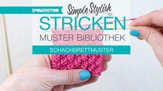 Schachbrettmuster - Simple Stylish Stricken