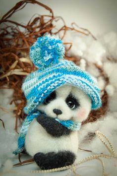 Panda bear - Elchy Toys