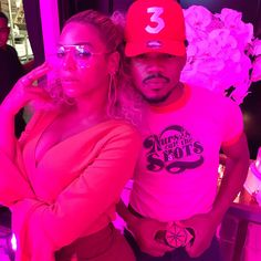 Famous guests included Blue Ivy, LaLa Anthony, Swizz Beatz, Cassie, Chance the Rapper, Diddy, Jay Z, Alicia Keys, Kelly Rowland, Michelle Williams and Usher