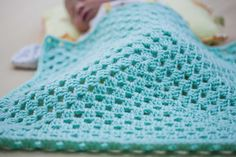 How to Crochet a Granny Square Baby Blanket for Beginners. If you are just - Granny Sunburst Granny Square, Crochet Granny Square Afghan, Baby Blanket Crochet, Crochet Baby, Granny Squares, Square Blanket, Crotchet, Crochet Blankets, Crochet Afghans