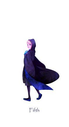 Frozen meets Harry Potter: Elsa; Year 5 at Hogwarts
