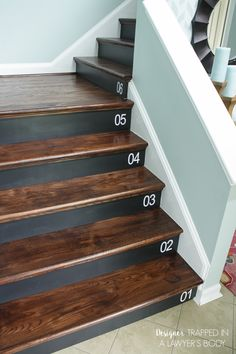 How to add tread and new risers to a staircase stair kit from home diy staircase makeover solutioingenieria Gallery