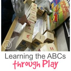 ABC Learning through Play - Teaching 2 and 3 Year Olds