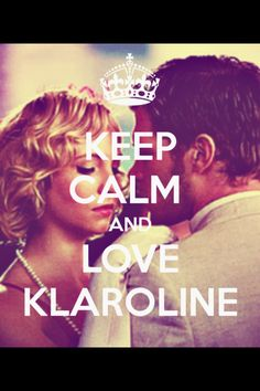 """Klaroline (Oh how I do love them together. I can't wait to see the spin-off """"The Originals"""" I'd like to see more development in Klaus' character. I just wish Caroline would forget Tyler so Klaus can make her happy!)"""