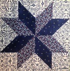 Easy LeMoyne Star Block free pattern on Craftsy at http://www.craftsy.com/pattern/quilting/other/easy-lemoyne-star/66921