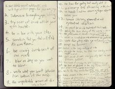Kerouac's 30 rules of spontaneous prose
