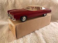 1973 Vintage Cadillac Eldorado Dealer Promo Promotional Model Car