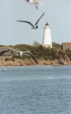 See this beautiful picture of the #Ocracoke lighthouse! http://www.elanvacations.com/
