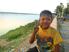 Peace along the Mekong River in Cambodia. Trueworldtravels.com