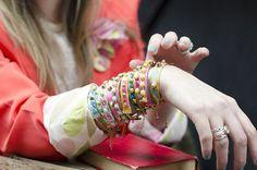 DIY: studded leather bracelets