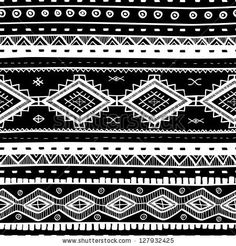 Tribal vector seamless background. by Alextanya, via ShutterStock. Stock VECTOR available for sale at shutterstock.  (c)AlexTanya.
