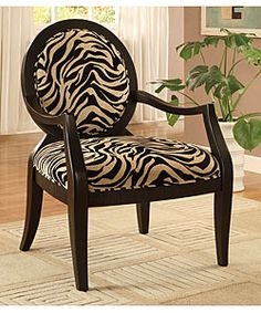 Apply paint remover with a brush to the zebra print chair and wait until it bubbles up; Use a clean cloth to remove any paint remover mixed with removed paint or bite. Decor, Zebra Chair, Contemporary Accent Chair, Furniture, Printed Chair, Luxury Chairs, Zebra Print, Chair Design, Occasional Chairs