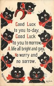 louis wain cat good luck - Google-søgning