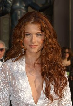 Debra Messing Red Ginger Curly Hair