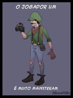 Luigi hipster.