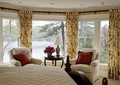 Decorate Bay Window decorations:bay window decorating ideas for your inspiration white