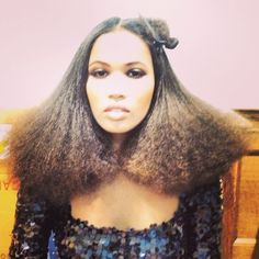 hair created using the ghd eclipse