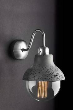 M422 Wall Lámpara de pared ligera de hormigón por ConcreteLamps