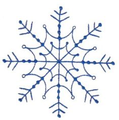 Bunnycup Embroidery | Free Machine Embroidery Designs | Snowflakes