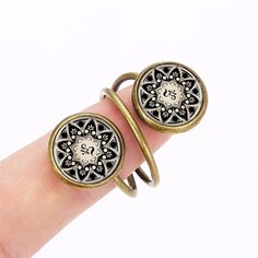Double Yoga Style Ring //Price: $8.99 & FREE Shipping //     #sale #shoppingday   Double Yoga Style Ring