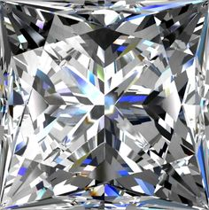 """Princess Cut Diamond: The Princess cut diamonds, which are also called """"modified square brilliant,"""" are the second most popular choice nowadays for diamond and other jewelry. Both conventional white and the wide variety of colored gemstones account for most of the mounted and loose diamonds sold nowadays."""
