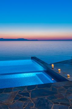 "the pleasure is mine - wednesday - Villa Kyma Chania Crete by Unique Properties edited by classy-captain "" Dream Vacations, Vacation Spots, Ideas De Piscina, Dream Pools, Beautiful Pools, Beautiful Places To Travel, Travel Aesthetic, Cool Pools, Pool Designs"