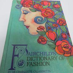 Vintage Fashion Design Book Fairchilds by shabbyshopgirls on Etsy, $19.99