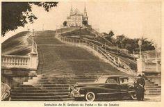 Santuário da Penha, anos 40! Cartão postal!