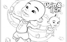 Upin Ipin Coloring Pages Complete