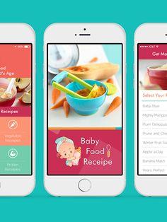 Baby food recipes mobile app design on behance 01bile ui baby food recipes mobile app design on behance 01bile ui pinterest mobile app design app design and mobile app forumfinder Images