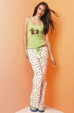 Make + Model Flannel Pajamas Gift set | Nordstrom
