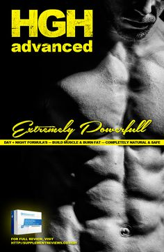 #HGHAdvanced  Extremely powerful  effective body building solution. Safe and worry free. No side effects and no health risks!  Full review: http://supplementreviews.co/brand-new-hgh-advanced/