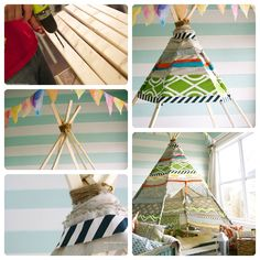 Making an Indian teepee unstitched Doll House Play, Play Houses, Indian Teepee, Baby Kids, Arts And Crafts, Dolls, Ideas, Food Trucks, Funny