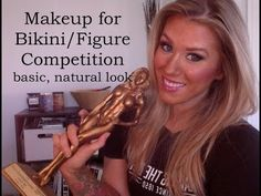 Competition Makeup Tutorial Basic, Natural Look