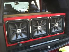 2 15 inch kicker competition subs in my 04 Malibu - YouTube