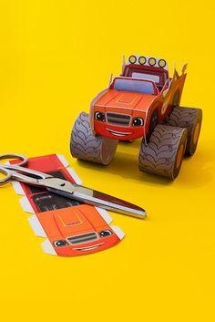 Vehículo de Blaze y los Monster Machines                                                                                                                                                                                 Más
