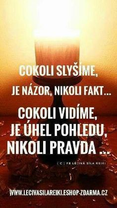 Názor a úhel pohledu Best Self, True Words, Motto, Self Love, Favorite Quotes, Quotations, Jokes, Success, Advice