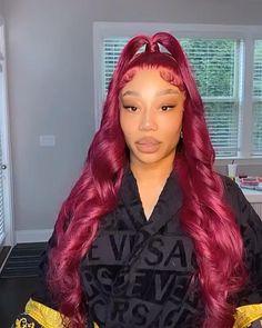 Baddie Hairstyles, Black Women Hairstyles, Summer Hairstyles, Cute Hairstyles, Pixie Hairstyles, Hair Inc, Curly Hair Styles, Natural Hair Styles, Colored Wigs