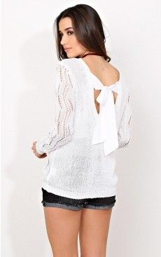 Paige eyelet knit sweater - $19.99