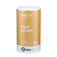 Feinstoff Superfood Hanfprotein, Pulver