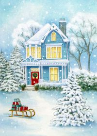 Our key principles are Fairness, Ability, Creativity, Trust and that's a… Christmas Scenes, Blue Christmas, Christmas Pictures, All Things Christmas, Christmas Crafts, Xmas, Illustration Noel, Christmas Illustration, Christmas Drawing