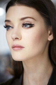 the glorious make-up from the Dior Cruise show