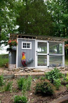 Backyard Chicken Coop Design Ideas 46
