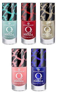 Essence OZ The Great and Powerful (Limited edition) #makeup #nailpolish essence colour & go http://www.essence.eu/
